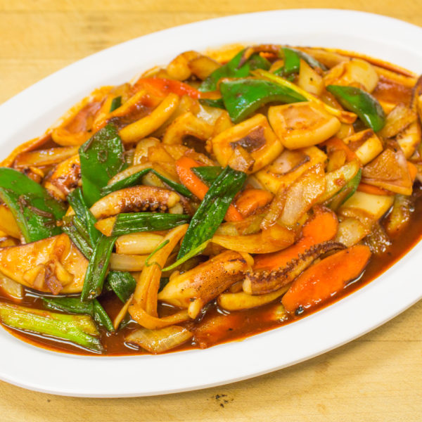 Stir-Fried Squid w/ Vegetables 오징어볶음
