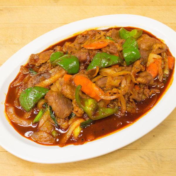 Spicy Stir-Fried Pork 제육볶음